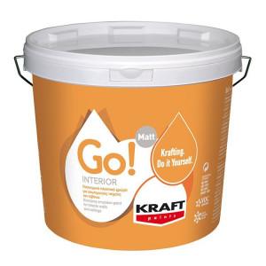 KRAFT GO!INTERIOR ΛΕΥΚΟ 3 LTR
